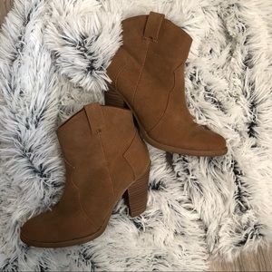 AE Brown Booties - Brown Boots -